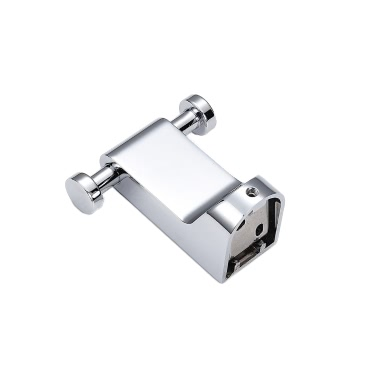 Homgeek High-quality Wall Mounted Stainless Steel Metal Chromed Clothes Garment Dress Towel Hanging Hook Hanger for Bathroom Bedroom Kitchen Toilet