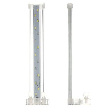 8cm/12cm/18cm/28cm Aquarium LED Clamp Clip-on Lamp High Light LED Bar SMD5730 Fish Tank Blue&White Lighting Tube AC220V-240V