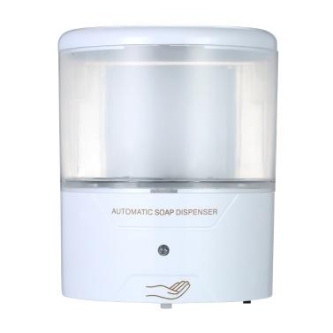 600 ml automatische Seifenspender Wand-IR-Sensor Touch-freie Flüssigseife Lotion Dispenser Container für Küche Badezimmer
