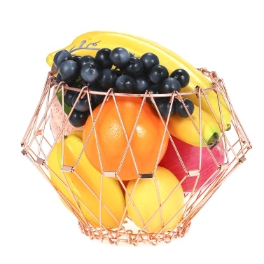 51% OFF Transforming Flexible Wire Basket for Fruit Bread or Decorative Items,limited offer $12.99