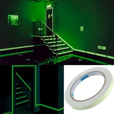 Glow in the Dark Tape Leuchtband Selbstklebender grüner Leuchtbandaufkleber