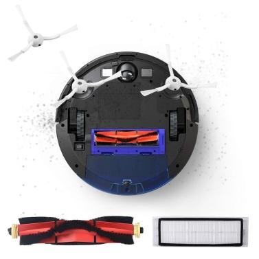 Roboterstaubsauger Filter Seitenbürsten Hauptbürste Staubtuch Kit 10 Stück Ersatzzubehör für XIAOMI Roborock T4 T6 S55 S50 S51 Roboterstaubsauger
