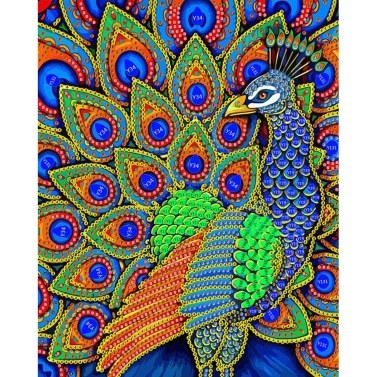 New Upgrade Premium Quality DIY Handmade 5D Colorful Special Shape Diamond Painting Art Craft Ideals Gift for Room Wall Decoration