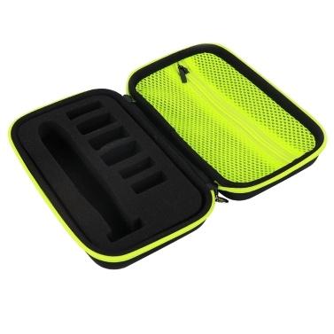 Aufbewahrungskoffer für Philips Shaver, EVA Tragbarer Koffer Elektrischer Trimmer Rasierer Reisetasche Schutzhülle Aufbewahrungstasche