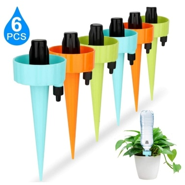 6 Pcs Plant Waterer Self Watering Spikes