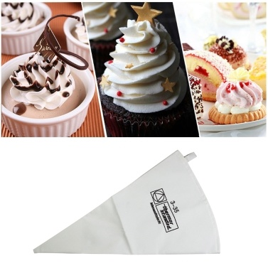 Pastry Bags Cookie Cake Icing Piping Bag Baking Tool Reusable Cotton Cloth Fondant Decorating Pastry Tips Cream Tool