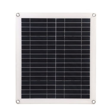 25W 5V Portable Double USB Port Flexible High Efficiency Sunpower Polycrystalline Solar Panel Power Kit