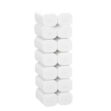 14 Rollen Weiches Toilettenpapier Papiergewebe 4-lagiges Haushaltspapier