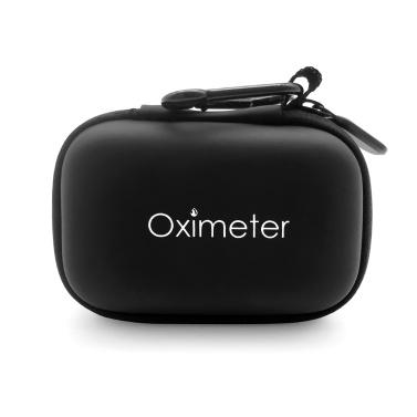 Oximeter Aufbewahrungskoffer Wasserdichtes Pulsoximeter Reisekoffer Harter EVA-Tragetasche für Pulsoximeter mit Fingerspitze
