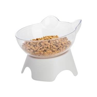 Bols pour chats, nourriture pour chats surélevée inclinée à 15 ° et bol d