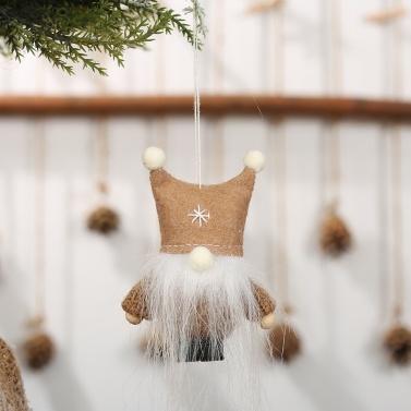 Weihnachtsverzierungs-Plüsch-Puppe