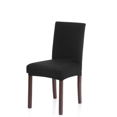 Dicker Strick Stretch herausnehmbar, waschbar Dining Chair Abdeckung Polyester Spandex Sitze Husse für Hochzeit Hotel Dining Room Zeremonie