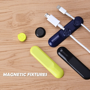 54% OFF New Life Style Cable Clip Magnetic Data Line Receiver Device,limited offer $1.99