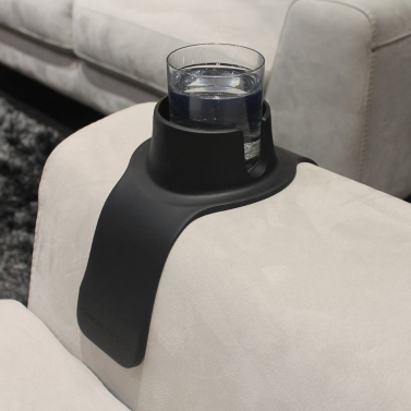 Couch Coaster Silicone Sofa Drinks Cup Holder Armrest Stand