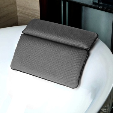 60% OFF 1 Pcs Non-slip Spa Bathtub Pillow,limited offer $8.99