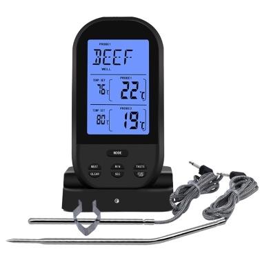 Drahtloses Fleischthermometer Lebensmittelthermometer