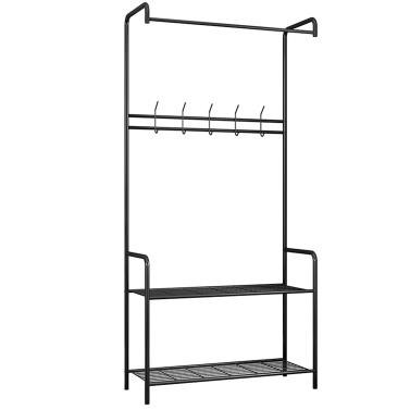 Carbon Steel Rod Hängende Kleidung Garment Rack Organizer Indoor Hanger