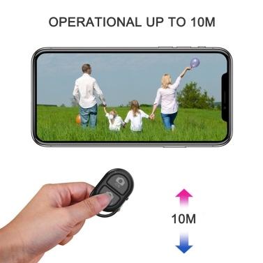 BT Kamera-Fernauslöser für Smartphones Drahtlose Kamera-Fernbedienung Kompatibel mit iPhone / Android-Handy Erstellen Sie erstaunliche Fotos und Selfies