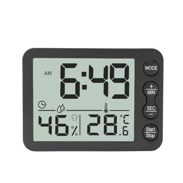 Temperature Humidity Indoor Clock