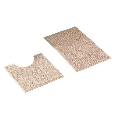 Badematte Toilettenteppich Weicher Chenille Bodenteppich