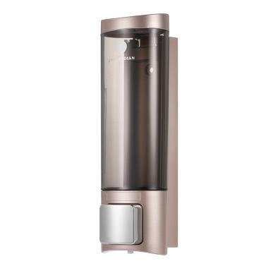 CHUANGDIAN manuelle Hand Seifenspender Wandmontage Flüssiges Shampoo-Dusche-Gel-Zufuhr Handreiniger Washroom Lotionspender für Badezimmer Toilette 200 ml Hotels