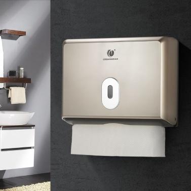 CHUANGDIAN Wand-Taschentuchhalter für Badezimmertuchspender für Mehrfach-Papierhandtücher