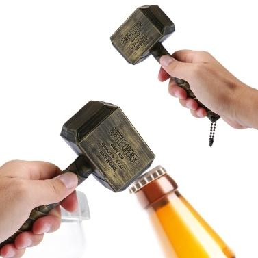 Hammer von Marvel Thor geformter Bierflaschenöffner
