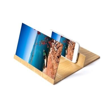iversal 12 Zoll Holz-Handy-Bildschirm-Lupenhalterung