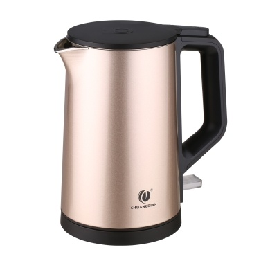 1L Electric Kettle CHUANGDIAN Double Wall Kettle