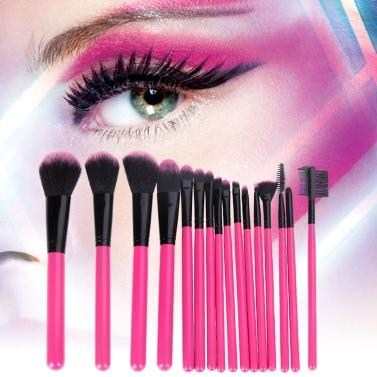Abody 16Pcs Professional Makeup Brushes Kit