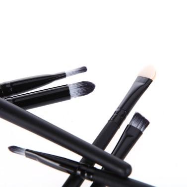 Anself 6ST Makeup Pinsel Kosmetik Set Eyeshadow Eyeliner Nase Smudge Toolkit