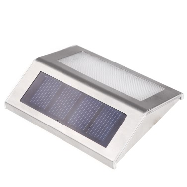 Luz Solar-powered com 2pcs LEDs