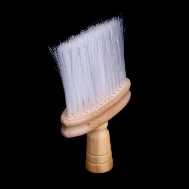 Anself 1 Stück Pro Holz Hals Duster saubere Pinsel Barbers Haare schneiden Friseur Friseurin