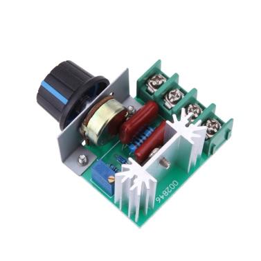 51% OFF 2000W AC50-220V SCR High-power Electronic Voltage Regulator,limited offer $1.83