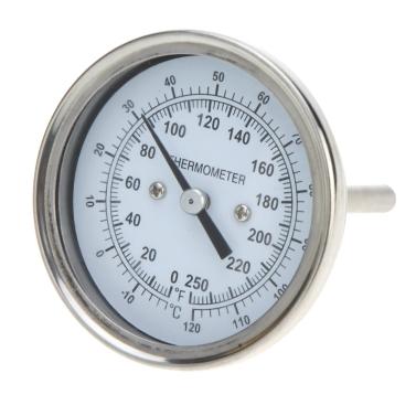 Anself Hohe Präzision rostfrei Stahl Ofen Thermometer Temperatur Messgerät Home Küche essen Fleisch Dial