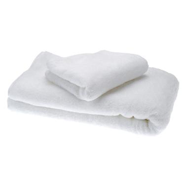 2ST einfache weiche reine weiße Baumwolle Badetücher Set Trocknen Handtuch Waschlappen für Nutzung der Hotel-Startseite