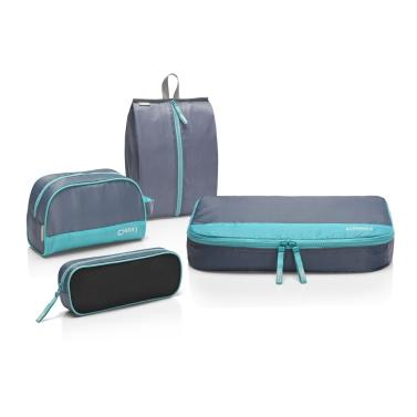 CHOOCI Tragbare Hohe Qualität Aufbewährunstasche kleine leichte Reise Verpackungsbeutel mit vier einzelne Taschen Satz