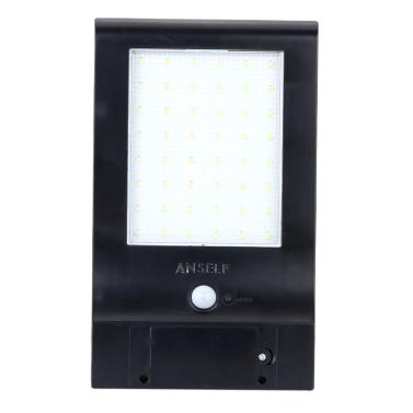 Anself Anself 48LED 1500lm Sonnenenergie-Lampe wasserdichter heller Treppen Beleuchtung Wand Lichtempfindliche Bewegungssensor