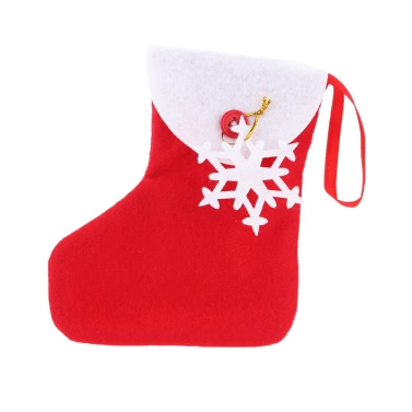 New Style Mini Christmas Tree Hanging Socks Ornament Candy Pack XMAS Decoration