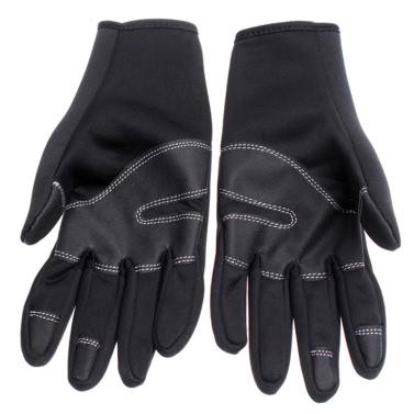 Outdoor warm windproof gloves