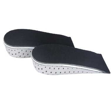 Männer Frauen Anstieg Höhe, die hoch halbe Einlegesohlen Memory Foam Schuheinlagen Kissen-Pad 3.3cm/1.3in
