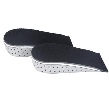 Men Women Increase Height High Half Insoles Memory Foam Shoe Inserts Cushion Pads 3.3cm/1.3in