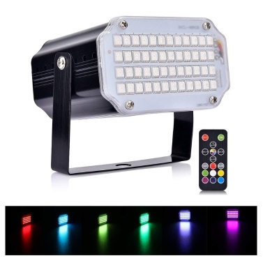 48 LEDs Party Light Laser Lights Blitzlicht