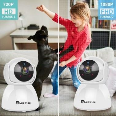 Q8 Haustier Kamera Hund Kamera WiFi Kamera 1080 P Home Security Indoor Haustier Monitor Kamera Motion Tracking Nachtsicht Intelligente Alarm Katzen Hunde