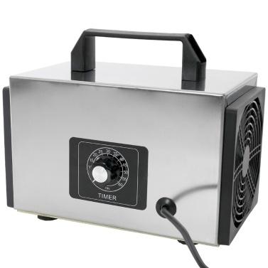 24 g / h Generator Ozon-Maschinentabletten Luftreiniger Ozonisator mit Zeitschaltuhr-Reiniger für Formaldehyd-Entferner für zu Hause