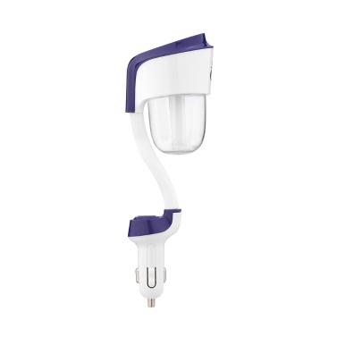 Nanum Mini DC 12V USB-Auto-beweglicher Auto-Luftbefeuchter Luftreiniger Lufterfrischer Aroma Essential Oil Diffuser Aromatherapie-Nebel-Hersteller Fogger für Reisen