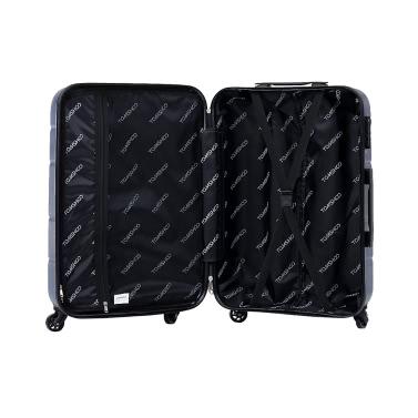 """TOMSHOO Luxury 3PCS Spinner Luggage Set Hard Shell 20""""/24""""/28"""" Carry-on Suitcase PC + ABS Trolley W/ Combination Lock"""