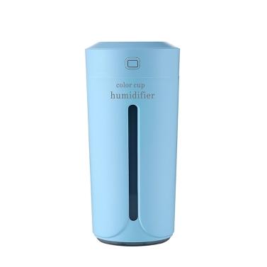 Tragbare Timing Mini Luftbefeuchter Feuchtigkeitsspendende Nachtlicht Bunte Diffusor für Home Car Office Luftreiniger