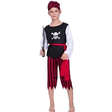 Halloween Schädel Piratenkostüm