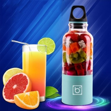 500ml Electric Juicer Cup Mini Juice Maker Fruit Mixer Squeezer